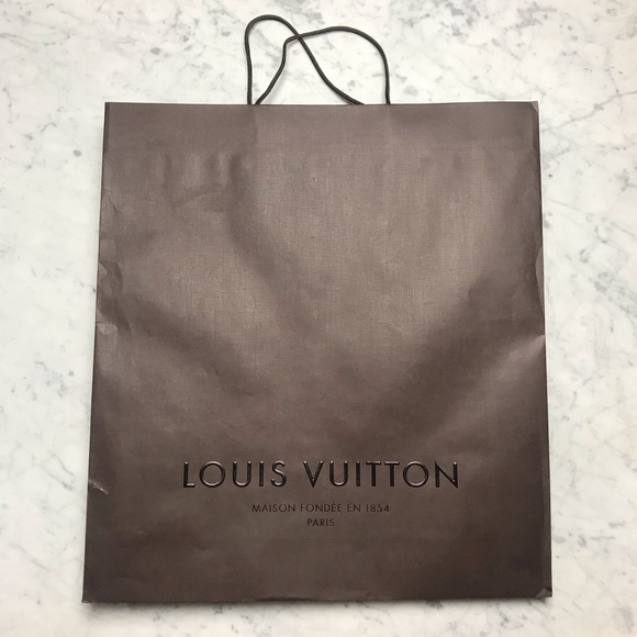 Louis Vuitton Decorative Gift Bag Closet Decor